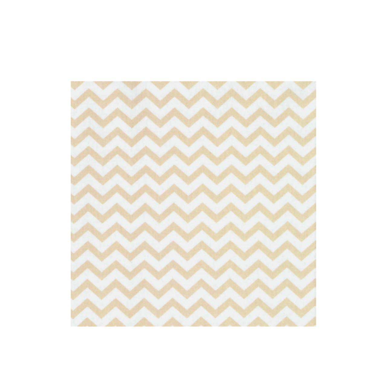 Jogo de lençol mini cama 100% Chevron amarelo claro
