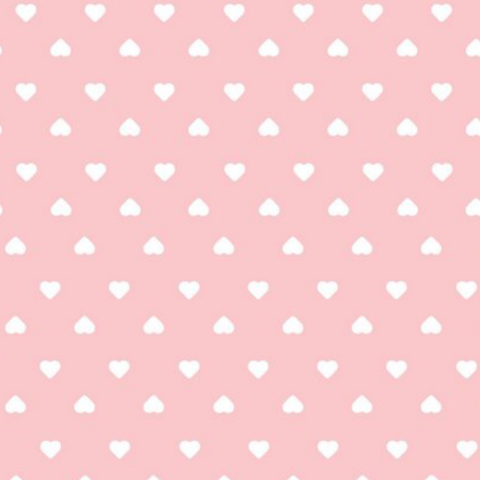 Jogo de lençol mini cama 100% tulipa com coração