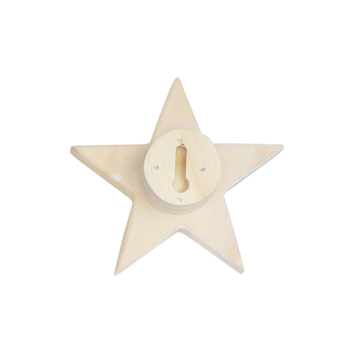 Kit de gancho de parede estrela  - Pomelo Decor