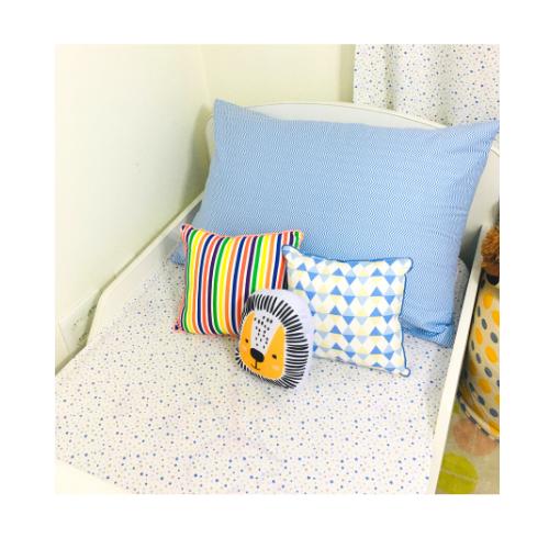 Jogo de lençol mini cama 100% algodão Constelação