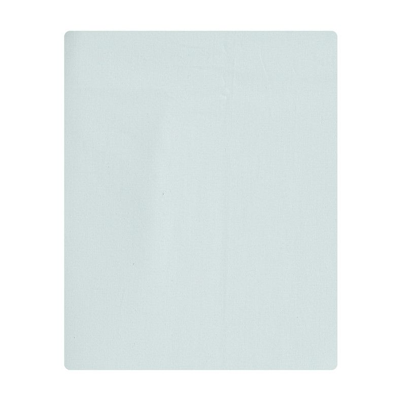 Lençol de cobrir berço, 100% algodão, tamanho 105 x 145 cm cor verde água