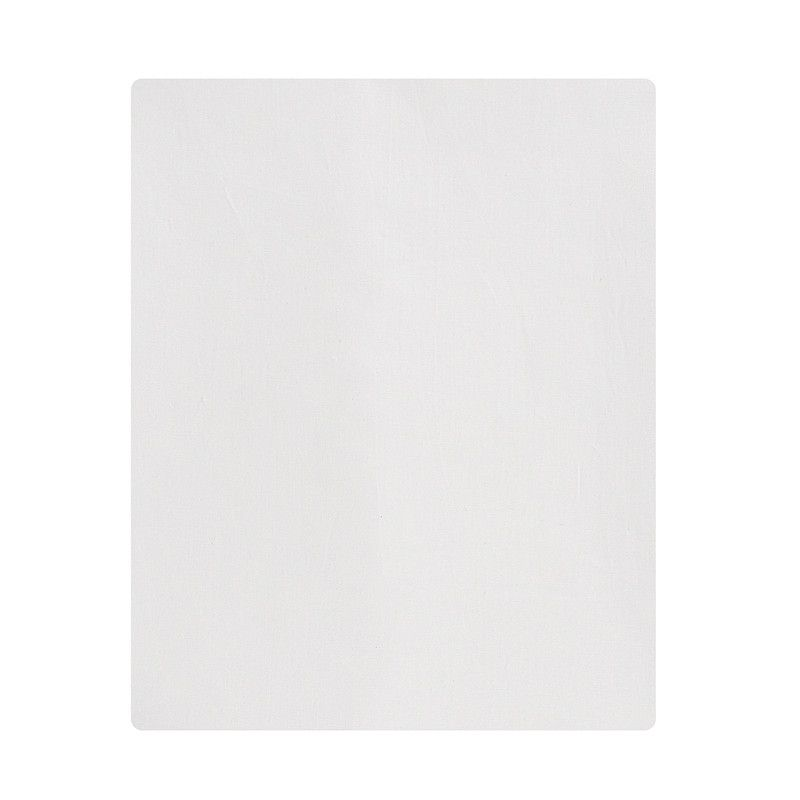 Lençol de cobrir mini cama 100% algodão, 120 x 180 cm cor Off White