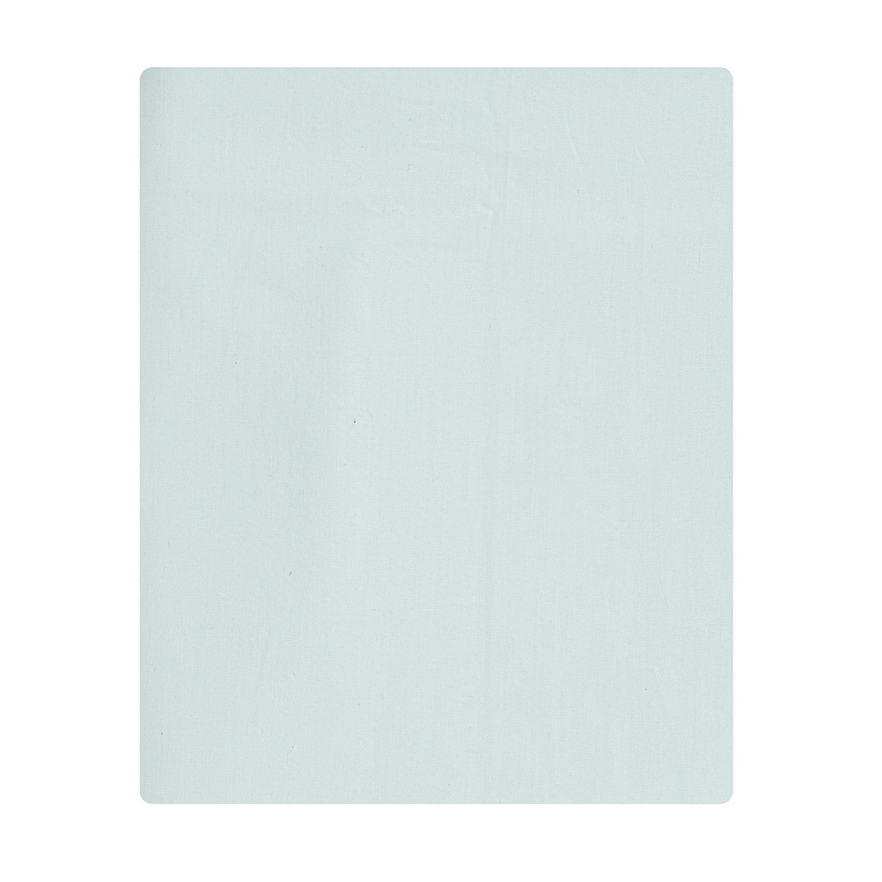 Lençol de cobrir mini cama 100% algodão, 120 x 180cm cor verde água  - Pomelo Decor