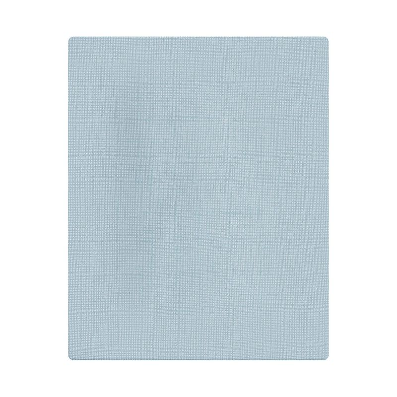 Lençol de cobrir solteiro, 100% algodão, 140 x 220 cm cor  Risca azul