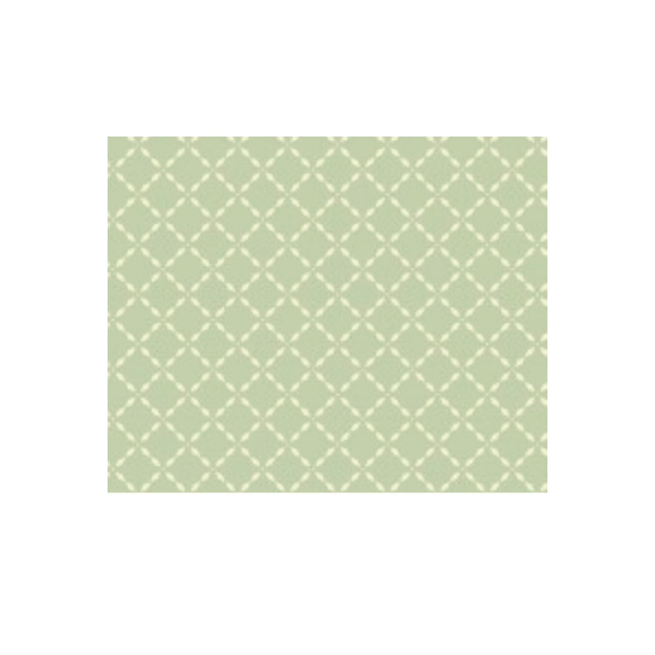 Lençol de elástico solteiro estampa verde geométrico
