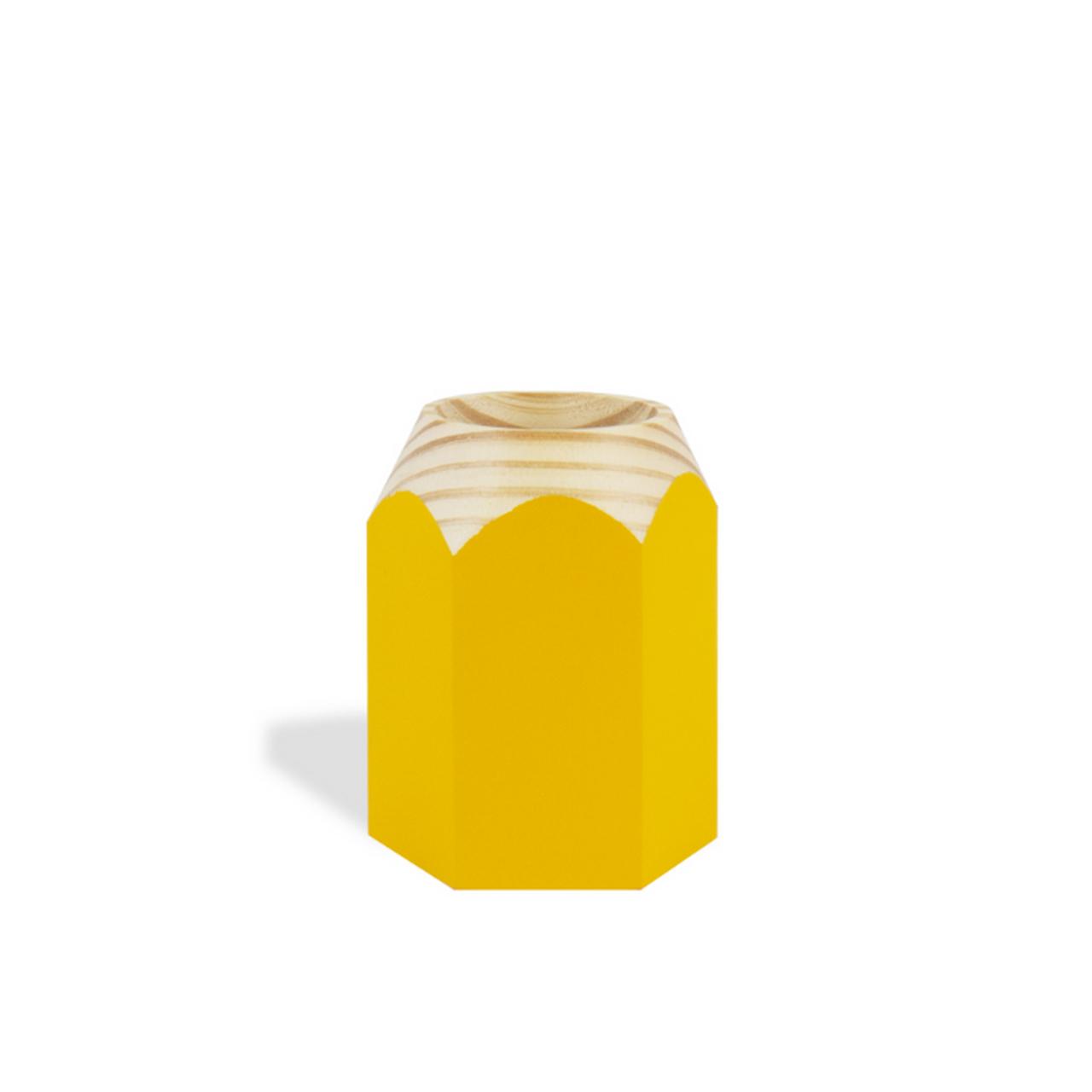 Porta Lápis infantil amarelo