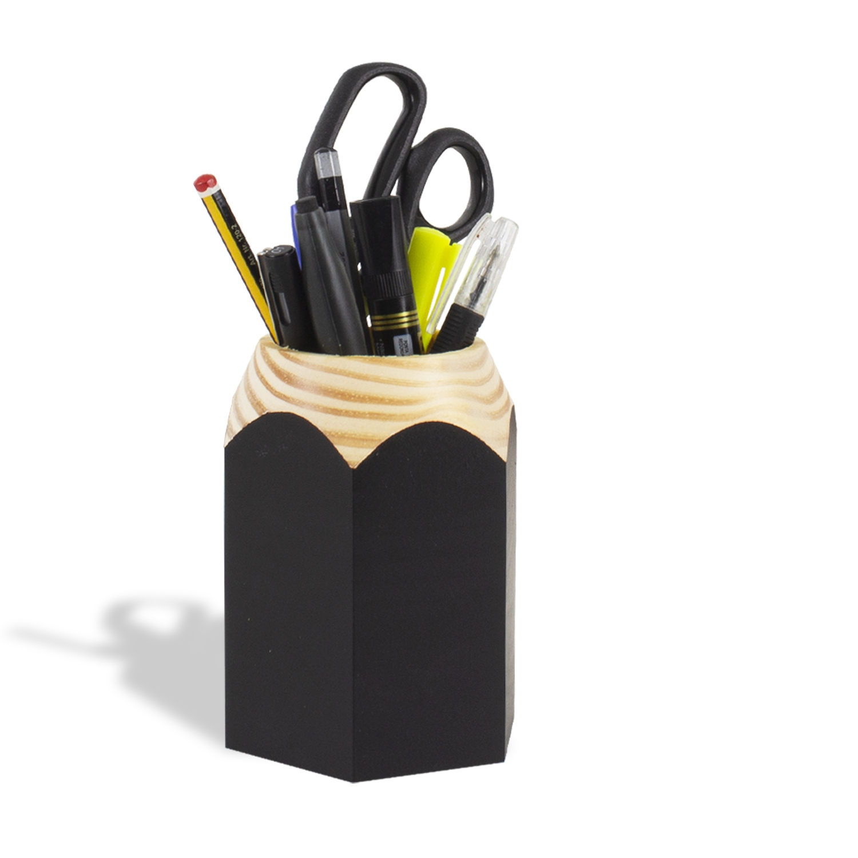 Porta Lápis infantil preto