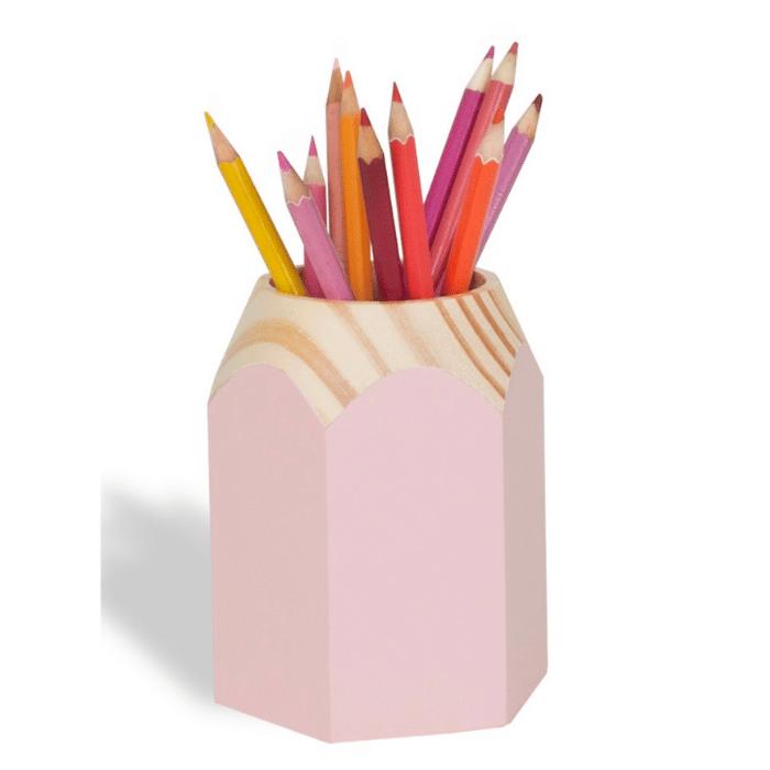 Porta Lápis infantil rosa
