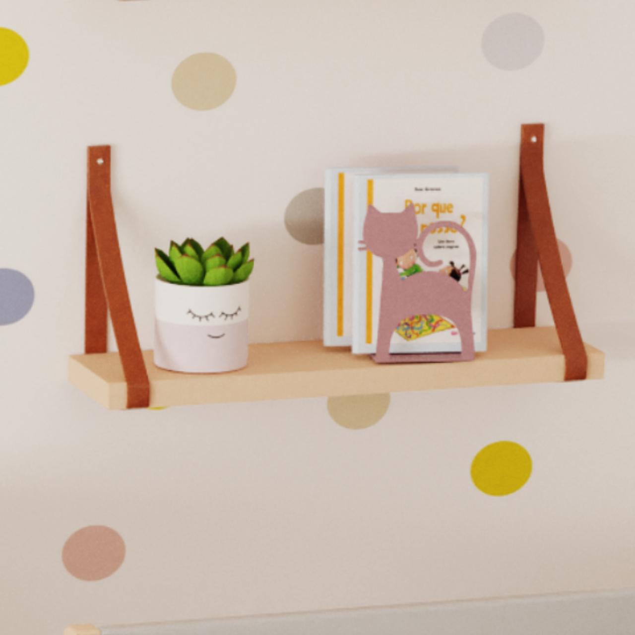 Porta Livros cat rosa :)