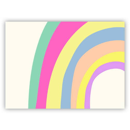 Tapete infantil playmat Arco íris candy colors
