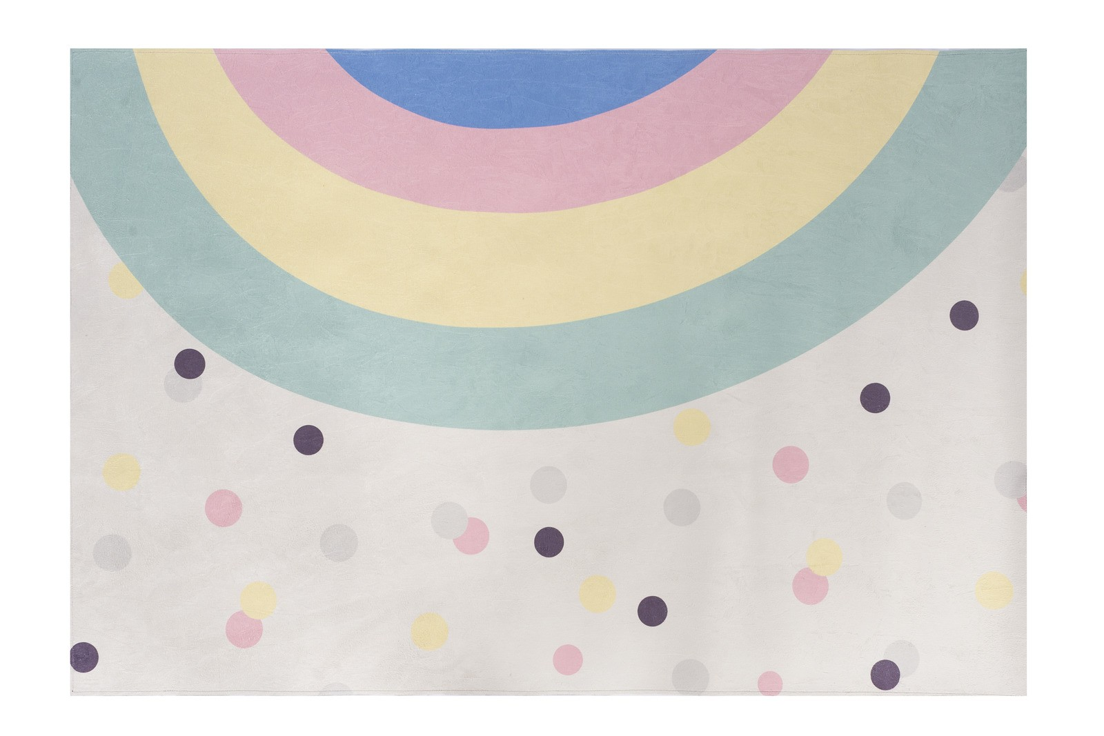 Tapete quarto infantil 100 x 150 cm estampa Arco Íris