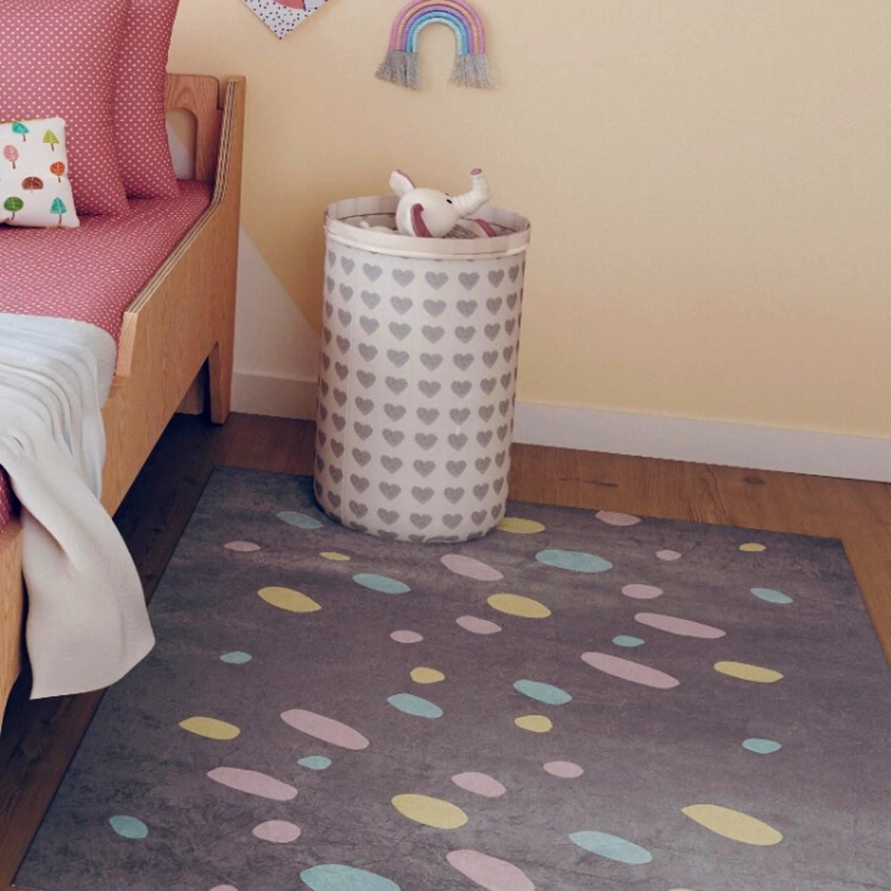 Tapete quarto infantil estampa Explose