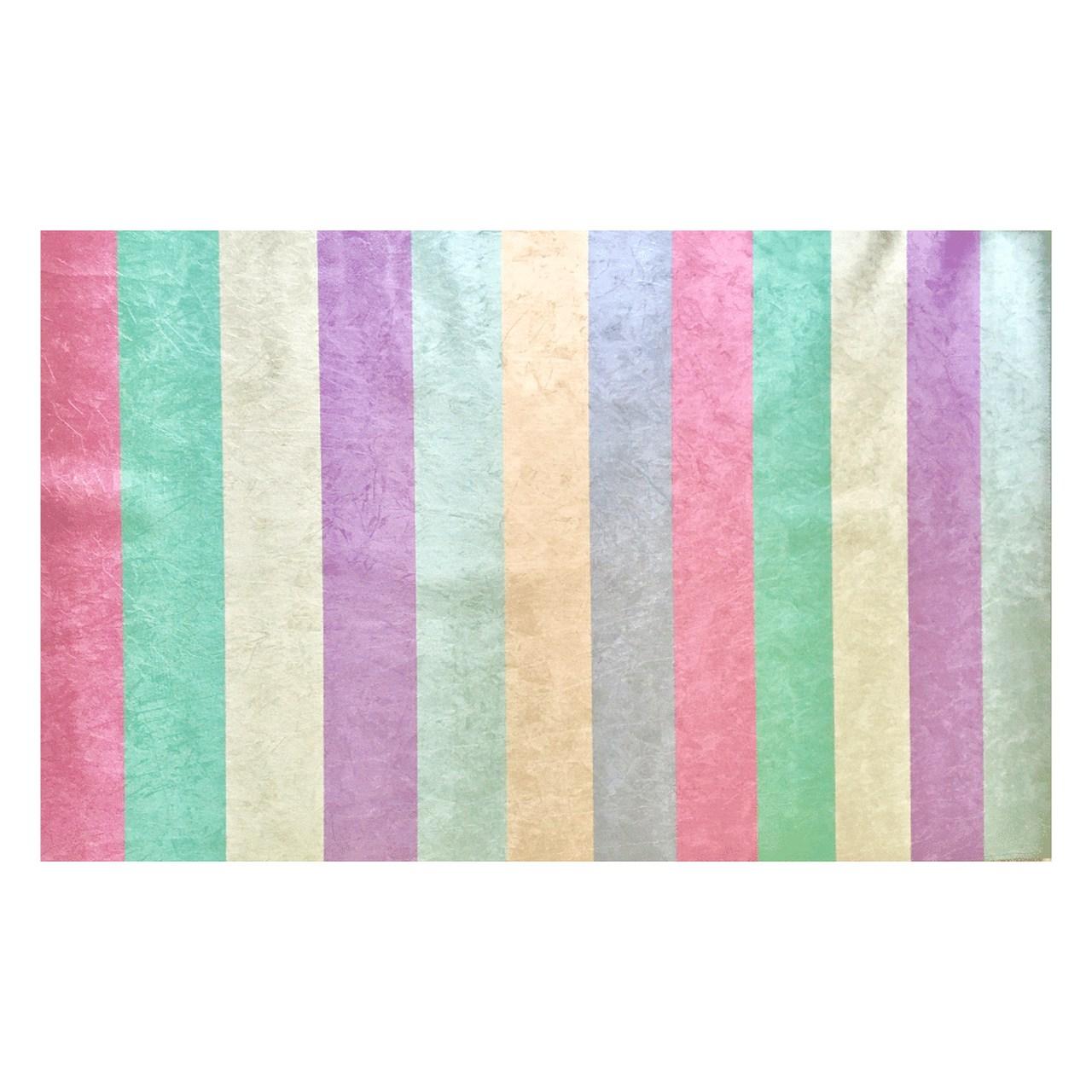 Tapete quarto infantil Listrado pink