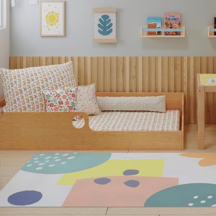 Tapete quarto infantil playmat Natureza