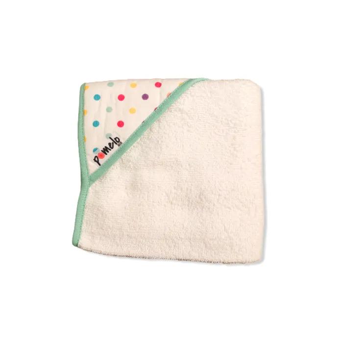 Toalha de bebê com capuz 100% algodão Confete candy