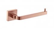 Porta Papel Higiênico - Quadrado Em Latão Rose Gold Fosco HB-A012RF