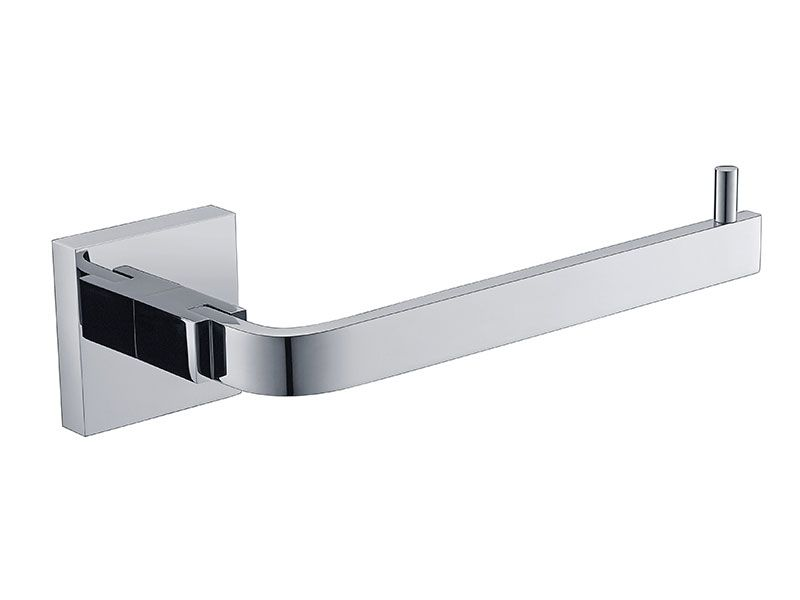 Porta Papel Higiênico - Quadrado Em Latão Cromado HB-A0125