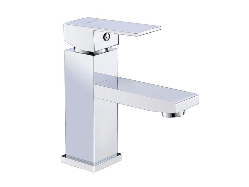 Torneira Misturador Monocomando Quadrado Para Banheiro 8872