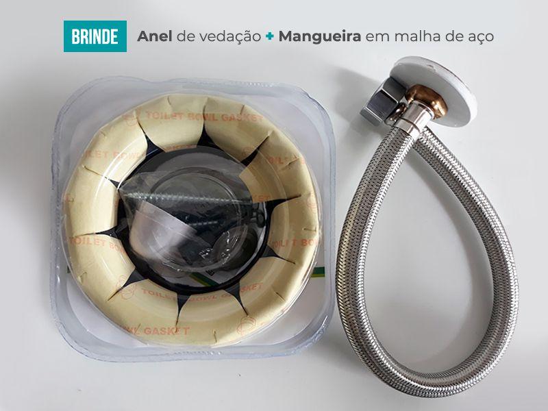 Vaso Sanitário Monobloco Harmony 8005 Branco
