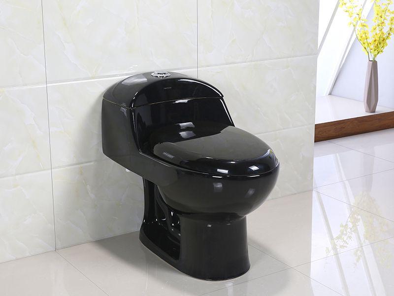 Vaso Sanitário Monobloco Harmony 8058B Preto