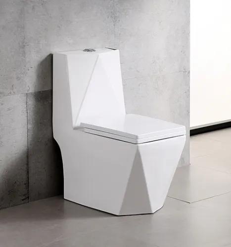 Vaso Sanitário Monobloco Quadrado Diamante Harmony 8019 Branco