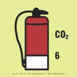 6kg Co2 Fire Extinguisher