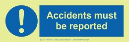 Accidents Must be Reported