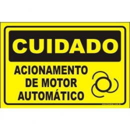 Acionamento de motor automático
