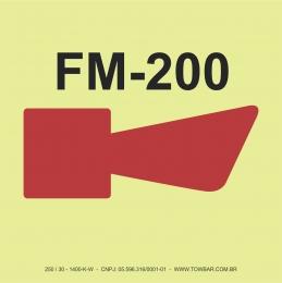 Alarme do FM 200