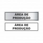 Área de produção