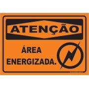 Área Energizada