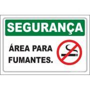 Área para fumantes