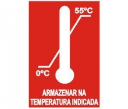Armazenar na temperatura indicada