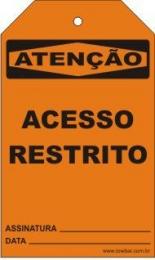 Atenção - Acesso restrito