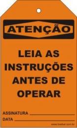 Atenção - Leia as instruções antes de operar