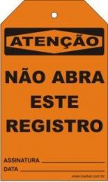 Atenção - Não abra este registro