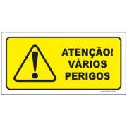Atenção vários perigos