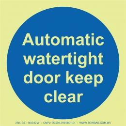 Automatic Waterlight Door Keep Clear