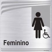 Banheiro feminino inclusivo