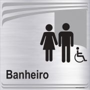 Banheiro Unissex inclusivo