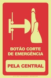 Botão Corte de Emergência - Pela Central