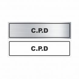 C.P.D.
