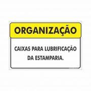 Caixas para lubrificação