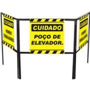 Cavalete biombo - Poço de elevador
