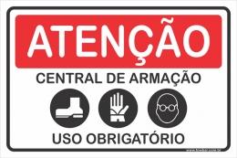 Central de Armação Uso Obrigatório