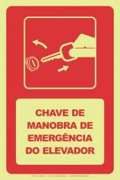 Chave de Manobra de Emergência do Elevador