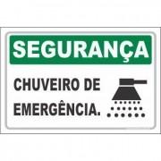 Chuveiro emergencial