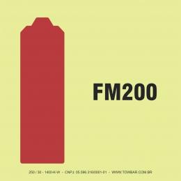 Cilindro do Sistema FM 200