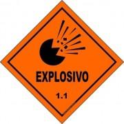Classe 1 - Explosivo 1.1