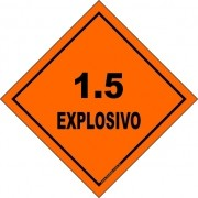 Classe 1 - Explosivo 1.5